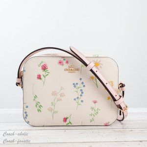 NWT Coach Mini Camera Bag with Spaced Wildflower